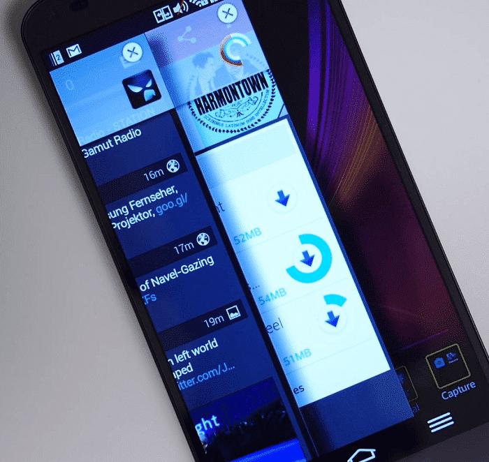 interface - lg g flex