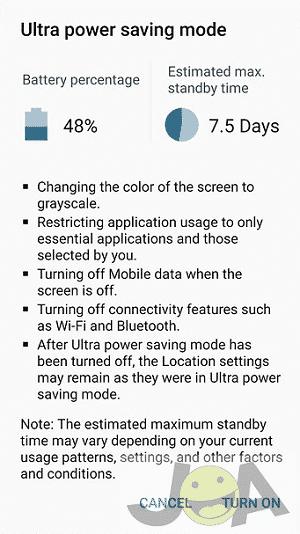 j7 power saver