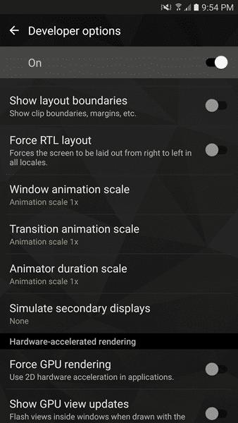 Change Animation Speeds