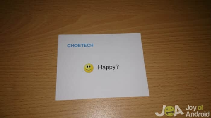 Choetech 19W Charger