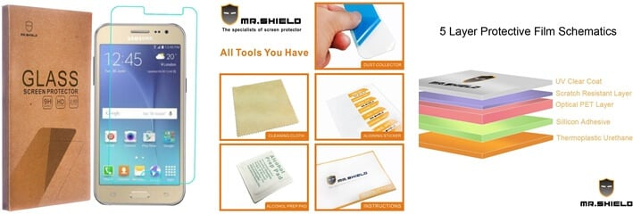 Mr Shield Tempered Glass Protector