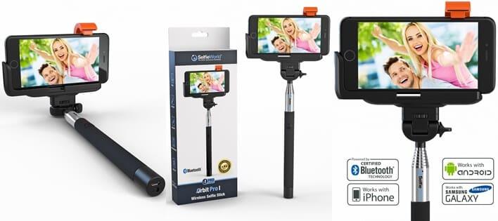 Selfie World Bluetooth Monopod