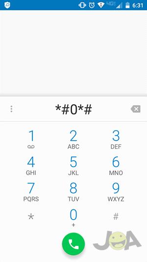 Service-Menu-Code