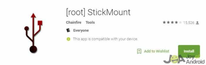 Stick Mount