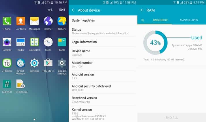 The Best Custom ROMs for Samsung Galaxy J7