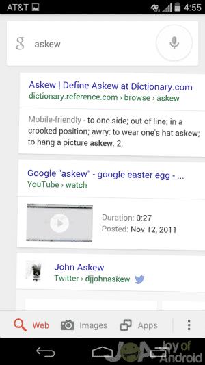 Askew
