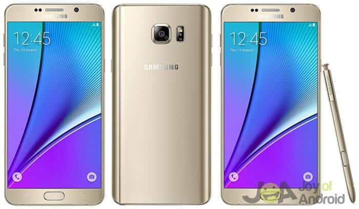 5. Samsung Galaxy Note 5