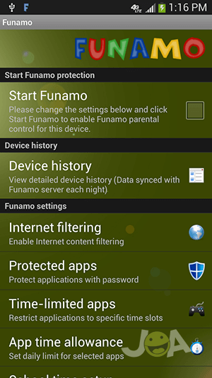 Funamo_Settings