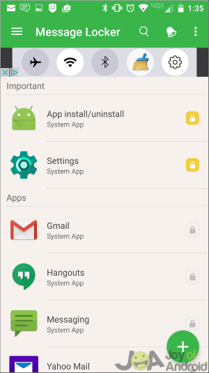 How to hide sms on Android - hide messaging apps
