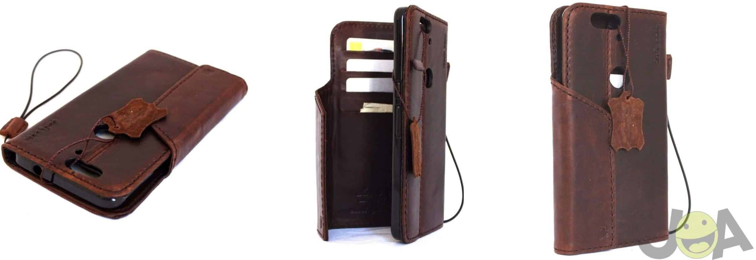 Vintage leather hard case