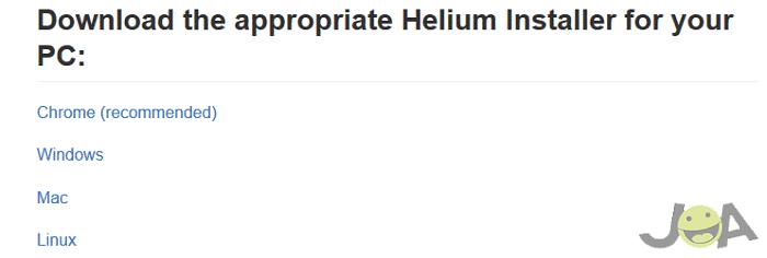 helium recover