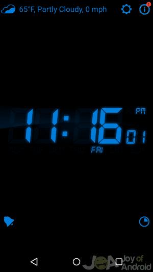 My Menu Alarms