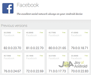 Facebook for Android Problems and Solutions