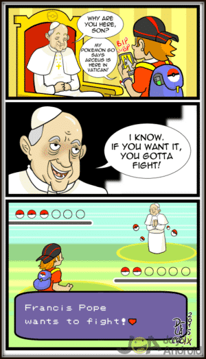 Pokemon GO Comic