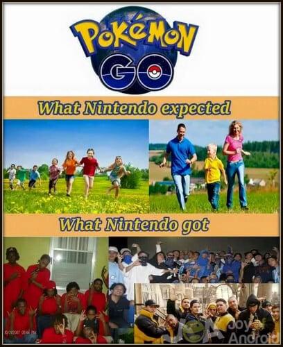 Pokemon GO Expected