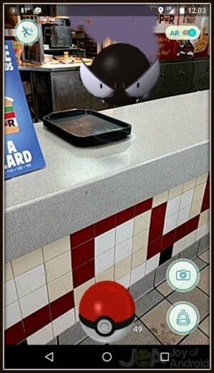 Pokemon Go Fast Food
