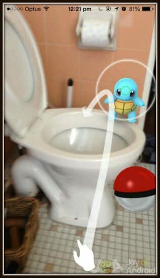 Pokemon Go Into the Bowl