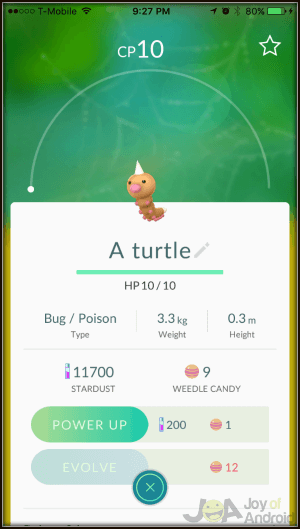 Pokemon GO Kid Name