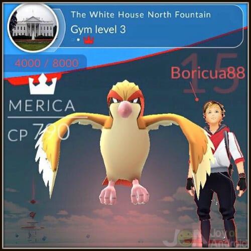 Pokemon Go White House