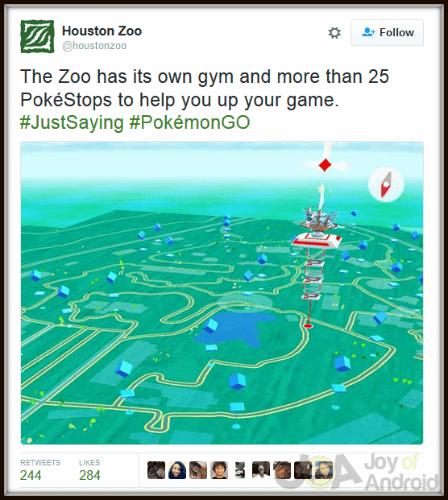 Pokemon GO Zoo