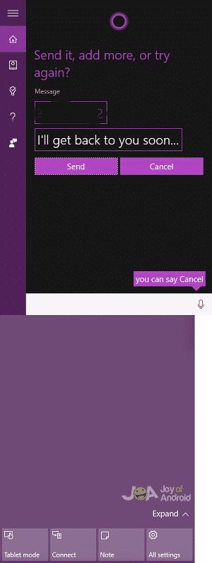 Choose Message