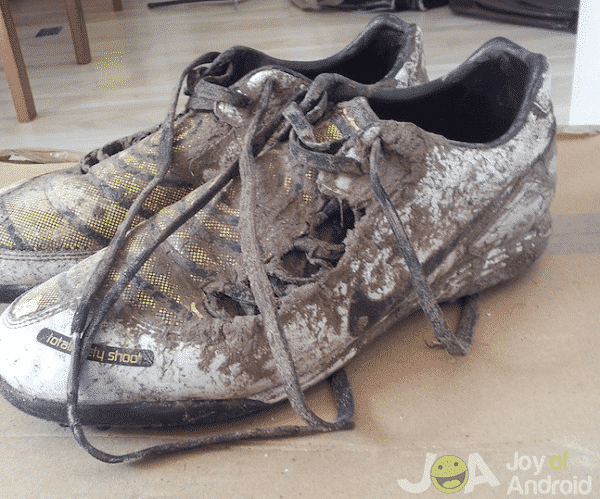 Destroyed Boots