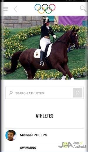 Olympics App