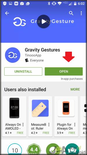 Open Gravity