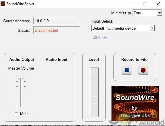 Soundwire-server