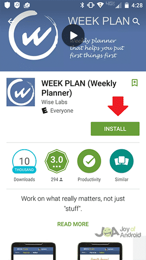 Week-Plan