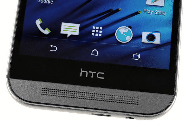 htc one m8 - bottom