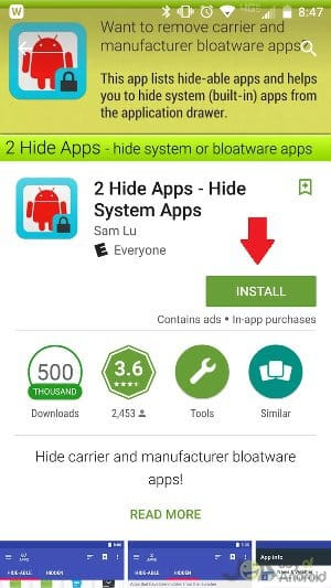 install-2hide