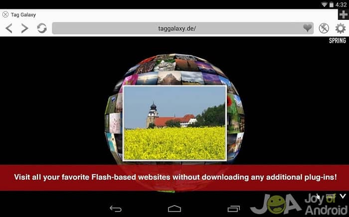 photon1 flash player android
