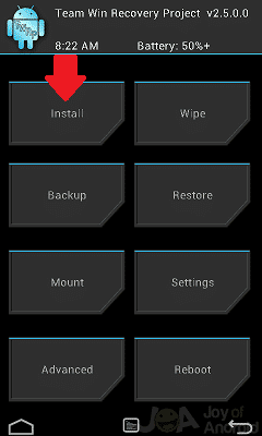 twrp Install