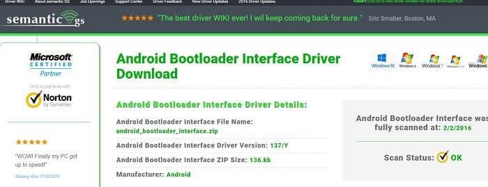 bootloader driver