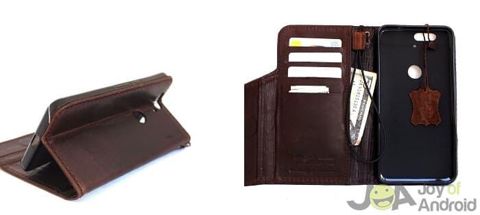 geniune leather vintage hard case