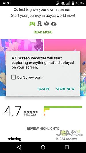 az-record-android-screen-record
