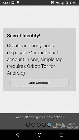 chat burner encrypt messages