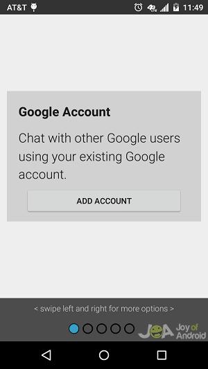 chat google encrypt messages