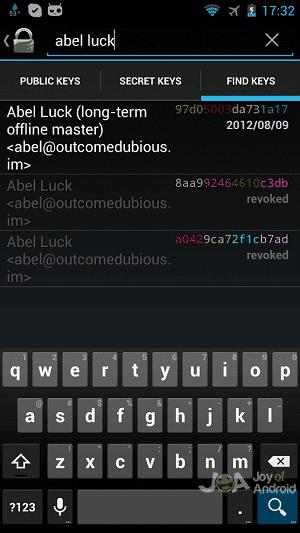 gnu encrypt messages