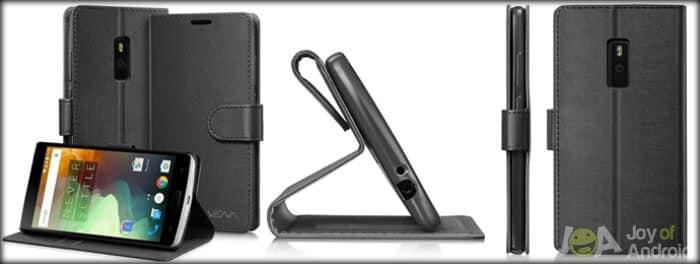 VENA Leather Wallet Case