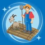 River Crossing App Icon