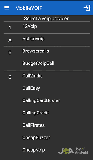 mobile1-voip-android