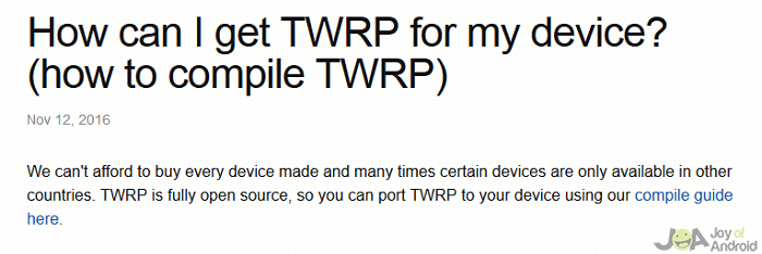 twrp open blu root