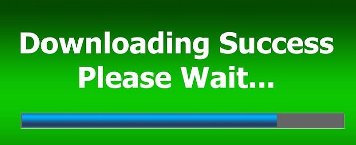 Downloading-Success