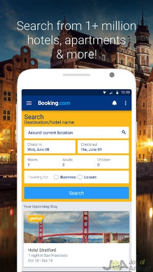 booking-android-ski-weekend