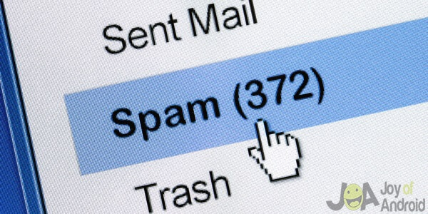 spam work email problems