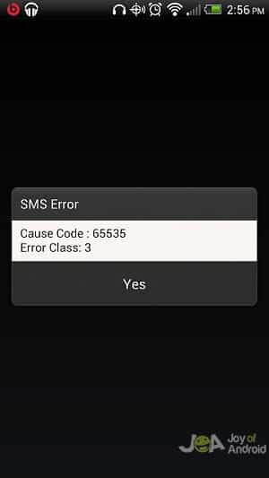 text failed s6 active problems