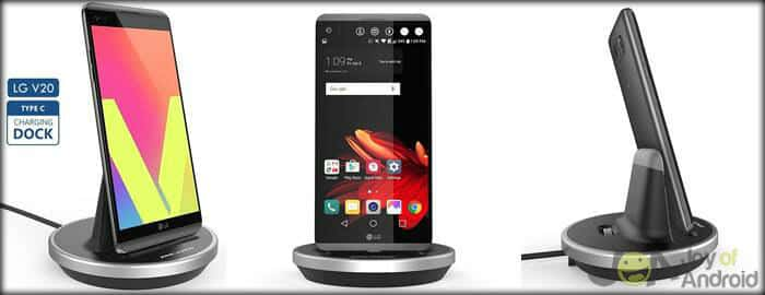 LG V20 Desktop Charging Dock