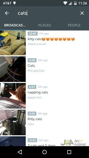 cats periscope tips
